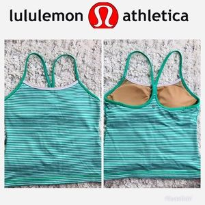 Lululemon Striped Tank Racerback Size 6